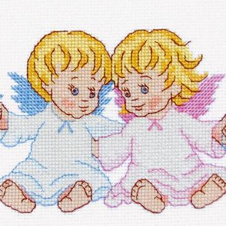 """Набор для вышивания крестиком """"Ангелочки"""""""