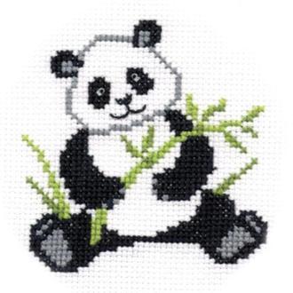 """Набор для вышивания крестиком """"Панда"""""""