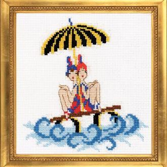 """Набор для вышивания крестиком """"Морячки"""""""