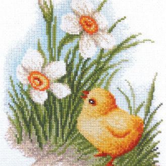 """Набор для вышивания крестиком """"Цыпленок"""""""