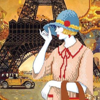 """Схема для вишивки бісером """"Подорож до Парижу"""""""