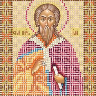 """Схема для вишивки бісером ікони """"Святий пророк Ілля"""""""