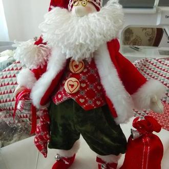 Игрушка мягкая Санта Клаус