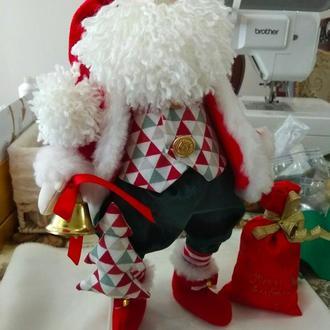 Санта Клаус игрушка мягкая