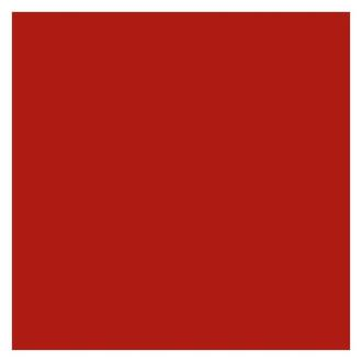 Фоамиран 20х35 см, красный