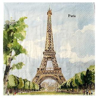 Салфетка Париж (4 мотива) 2-7253