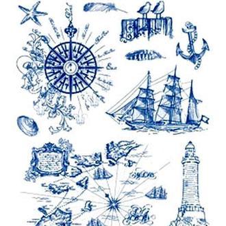 Набор штампов силиконовых Море 14х18 см Viva 400301900