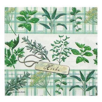 Салфетка Травы - специи 2-7233