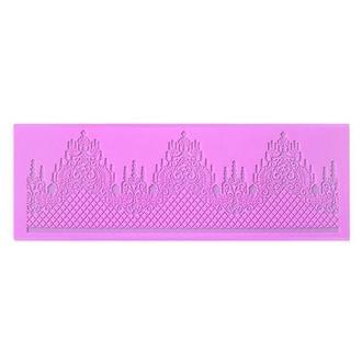 Молд силиконовый Кружево, 360х130х2 мм