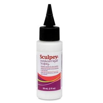 Жидкая пластика Sculpey Translucent Liquid, 59 мл, ALSB02
