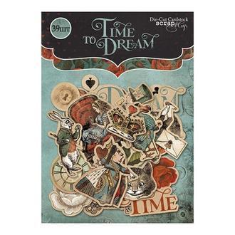 Набор высечек для скрапбукинга Time to Dream  39 шт