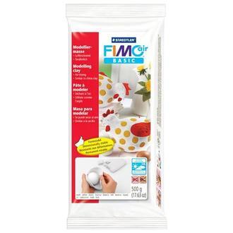 Пластика самозатвердевающая Fimo Air 500 гр, белая