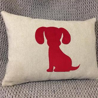 """Декоративна подушка """"Цуцик"""" Pillow Design"""