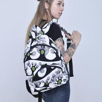 Рюкзак тканевый текстильный летний Forest Wave