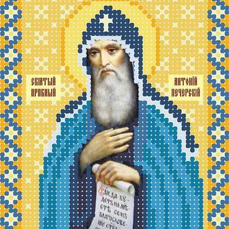 """Схема для вишивки бісером ікони """"Святий преподобний Антоній Печерський"""""""