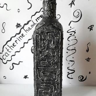"Декоративная бутылка ""Японский символ """