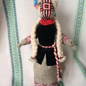 Авторська лялька-мотанка, єдиний екземпляр - БІЛОСЛАВА
