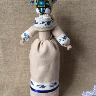 Авторська лялька-мотанка, єдиний екземпляр - ВАСИЛИНА