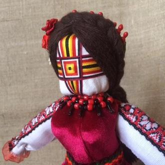 Авторська лялька-мотанка, єдиний екземпляр - КАЛИНА