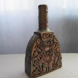 Бутылка ,декор