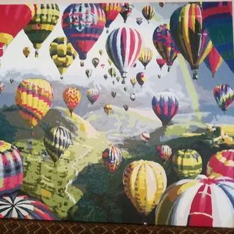 """Картина """"повітряні кулі"""""""