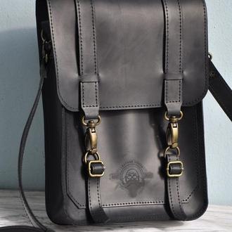 """Кожаная сумка """"Оливер"""""""
