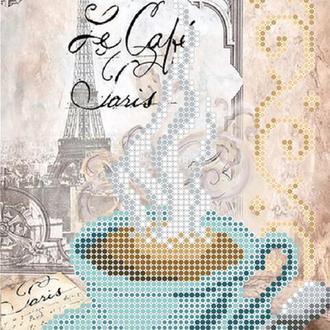 """Схема для вишивки бісером """"Чашка кави"""""""