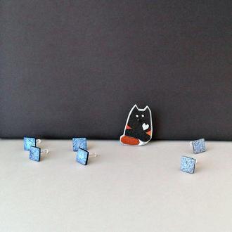 Брошка котик Кукі