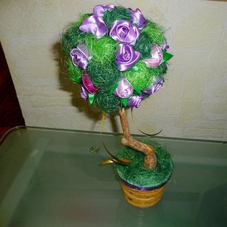 Деревце, топиарий, дерево счастья, подарок