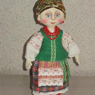 Авторская текстильная кукла ручной работы Украинка.