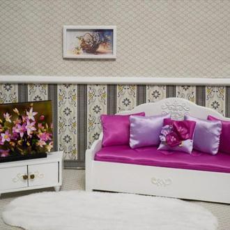 Мебель для кукол Набор Диван-софа с тумбой