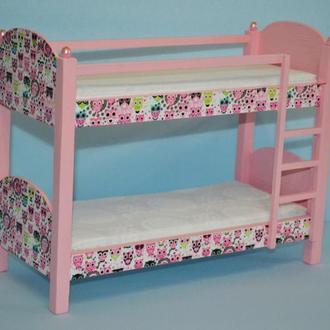 Мебель для кукол Кровать для Барби,МонстерХай