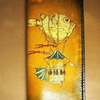 Кожаный кошелек Мечтатели