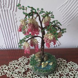 Дерево - глициния