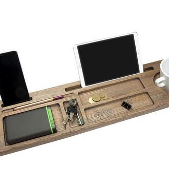 Органайзер из дерева для дома и офиса