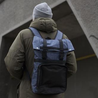 АКЦИОННАЯ ЦЕНА! Рюкзак из прочной водонепроницаемой сумочно-рюкзачной ткани, объем 20л