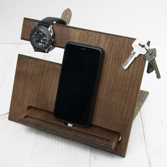 Подставка органайзер для телефона, кошелька, часов
