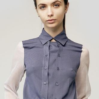 Рубашка с двойной застежкой