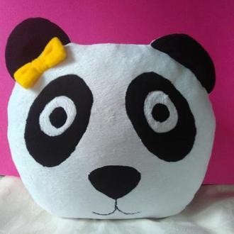 Панда подушка-игрушка