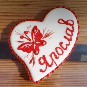 """Медово-імбирне печиво """"Серце"""""""