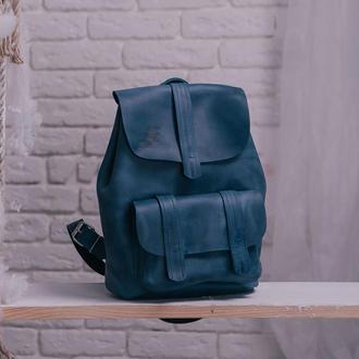 Рюкзак TEXAS из натуральной кожи рюкзак, рюкзак из кожи Crazy Horse