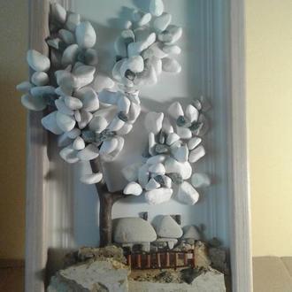 Картина з натурального каменю