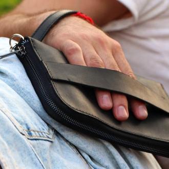 Мужской клатч Wristlets (Арт. 0117)