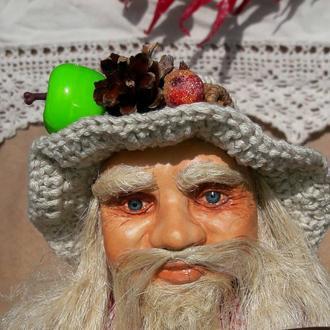 Дед Матвей (домовой) - интерьерная кукла