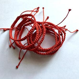Браслет плетеный обереговый от сглаза
