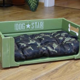 """Лежанка для собаки """"Military"""" в размере 38х55 см"""