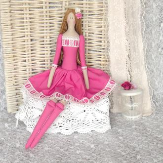 Кукла в стиле Тильда Сенди