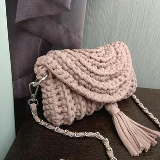В'язана сумочка