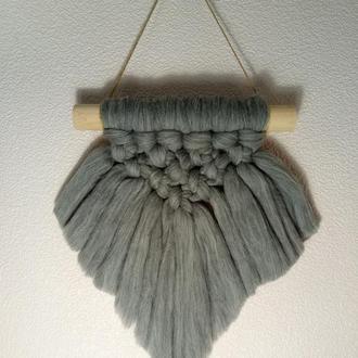 Декоративное панно технике макраме в скандинавском стиле