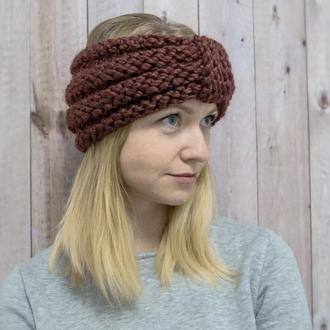 Женская повязка на голову в стиле Boho